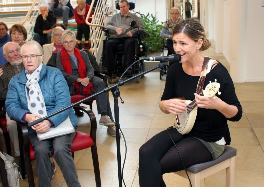 Nadine Brokmann vom Lemgoer Duett a.mie