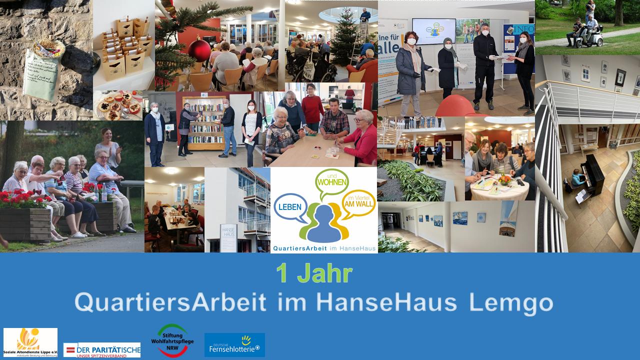 Ein Jahr QuartiersArbeit im HanseHaus Lemgo